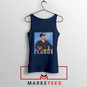 IL Douche Donald Trump Navy Tank Top