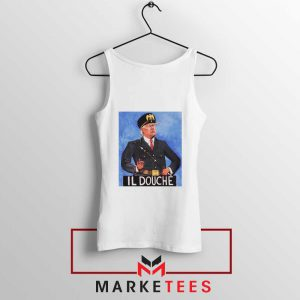 IL Douche Donald Trump White Tank Top