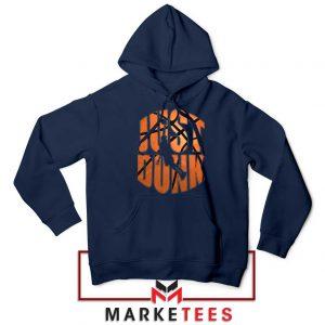 Just Dunk It NBA Navy Blue Hoodie