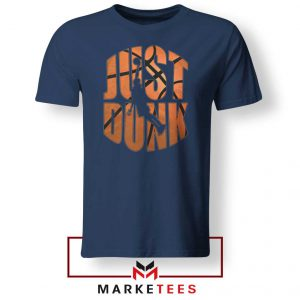 Just Dunk It NBA Navy Blue Tee Shirt
