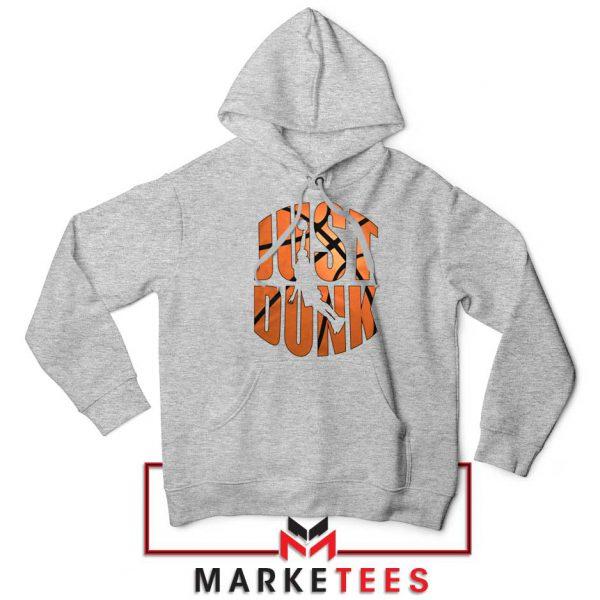 Just Dunk It NBA Sport Grey Hoodie