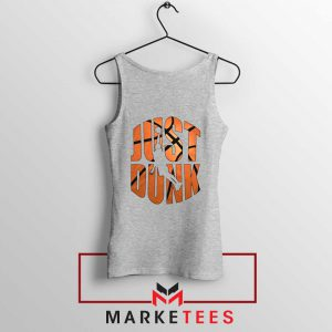 Just Dunk It NBA Sport Grey Tank Top