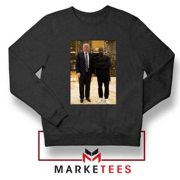 Kanye West Trump Black Sweatshirt