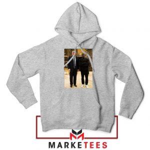 Kanye West Trump Grey Hoodie