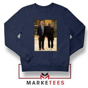 Kanye West Trump Navy Sweatshirt