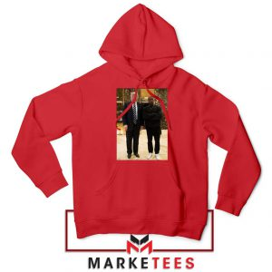 Kanye West Trump Red Hoodie