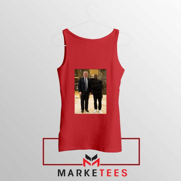 Kanye West Trump Red Tank Top
