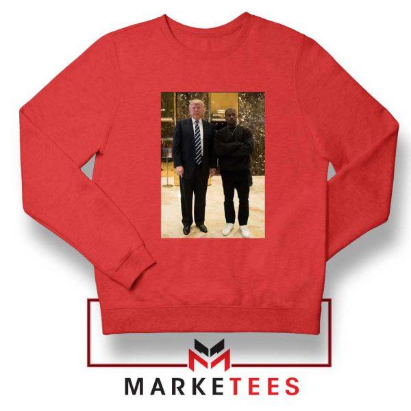 Kanye West Trump Sweatshirt