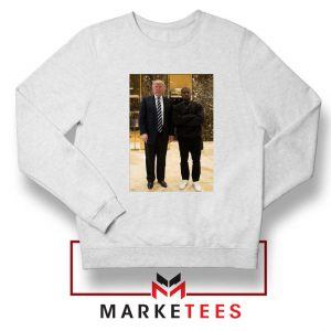 Kanye West Trump White Sweatshirt