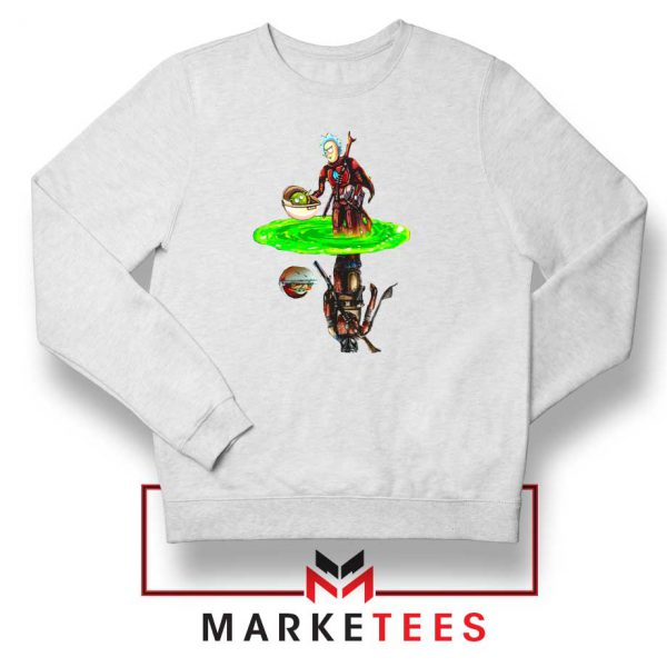 Mandalorian Rick and Morty Sweater