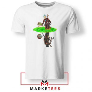 Mandalorian Rick and Morty Tee Shirt