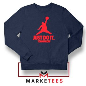 Nike Jordan Parody Navy Blue Sweatshirt