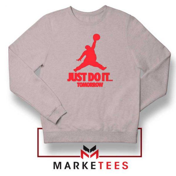Nike Jordan Parody Sport Grey Sweatshirt