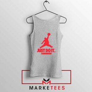 Nike Jordan Parody Sport Grey Tank Top