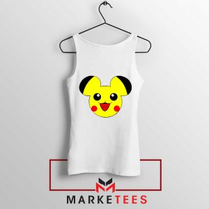 Pikachu Mickey Mouse Tank Top