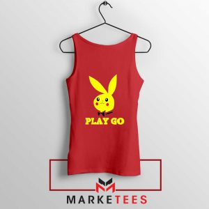 Pikachu Playboy Tank Top