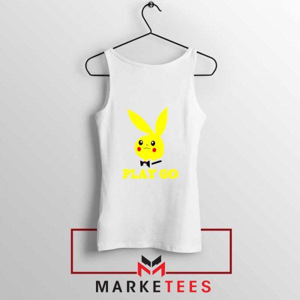 Pikachu Playboy White Tank Top