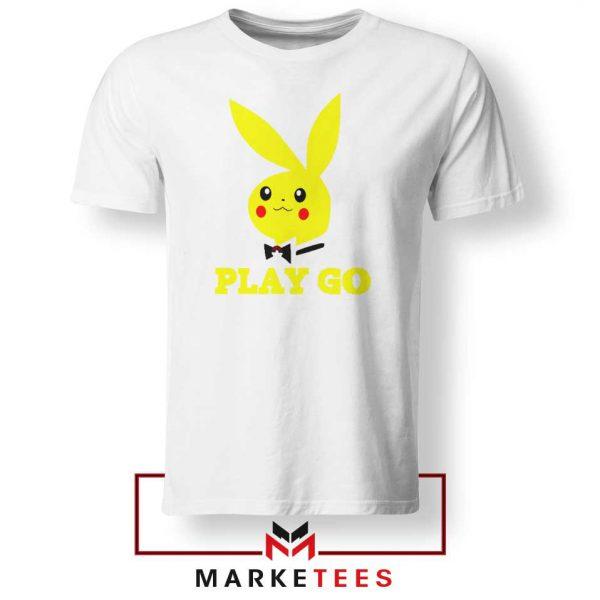 Pikachu Playboy White Tee Shirt
