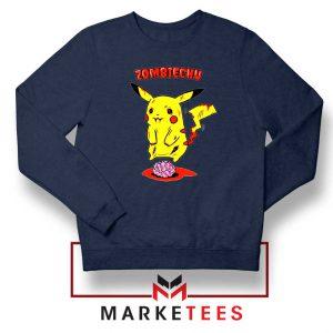 Pikachu Zombiechu Navy blue Sweatshirt