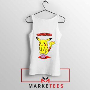 Pikachu Zombiechu Tank Top