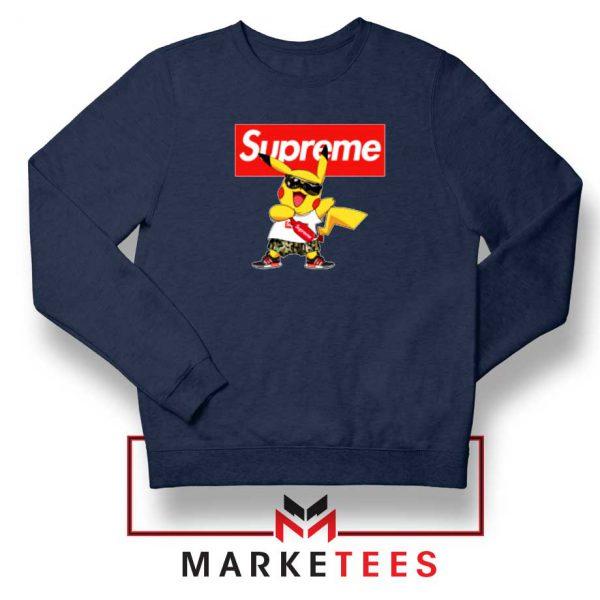 Pokemon Supreme Navy Blue Sweatshirt