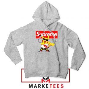 Pokemon Supreme Sport Grey Hoodie