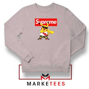 Pokemon Supreme Sport Grey Sweatshirt