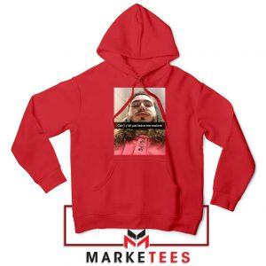 Post Malone American Singer Red Hoodie