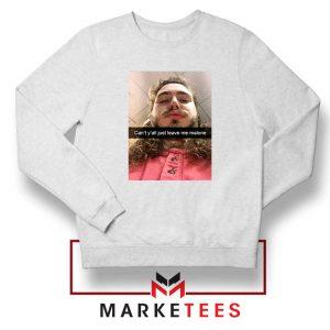 Post Malone American Singer Sweatshirt