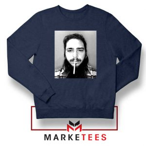 Post Malone Cigarette Navy Sweatshirt