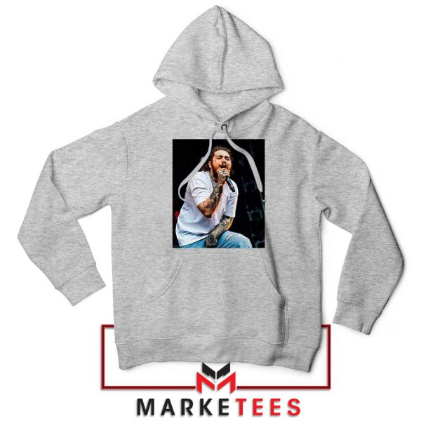 Post Malone Concert Grey Hoodie