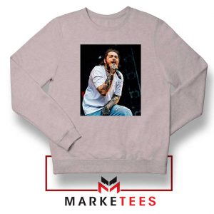 Post Malone Concert Grey Sweater