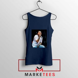 Post Malone Concert Navy Tank Top