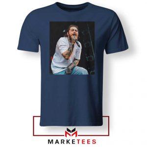 Post Malone Concert Navy Tshirt