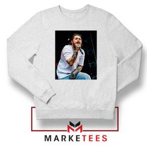 Post Malone Concert White Sweater