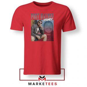 Post Malone Hollywood Bleeding Red Tee Shirts