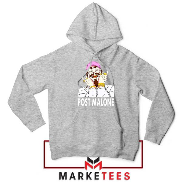 Post Malone Pink Hat Hoodie