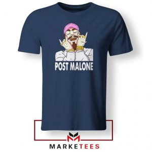 Post Malone Pink Hat Navy Tshirt
