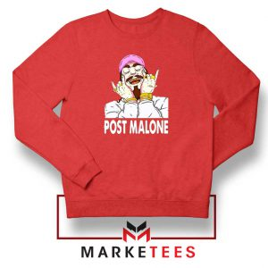 Post Malone Pink Hat Sweater