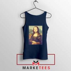 Post Malone Rapper Navy Tank Top