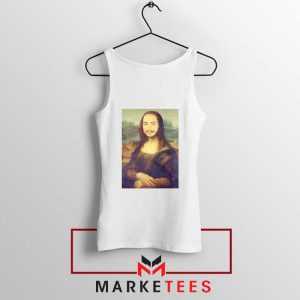 Post Malone Rapper White Tank Top