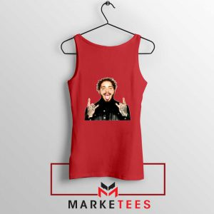 Post Malone Stoney Red Tank Top