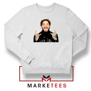 Post Malone Stoney White Sweater