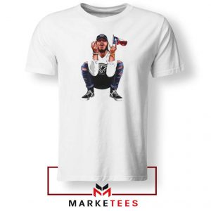 Post Malone White Iverson Tshirt