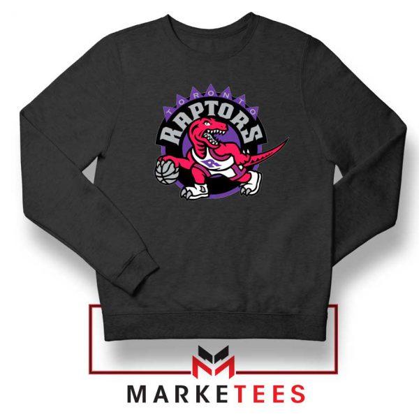 Raptors Heat NBA Black Sweater