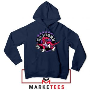 Raptors Heat NBA Navy Blue Hoodie