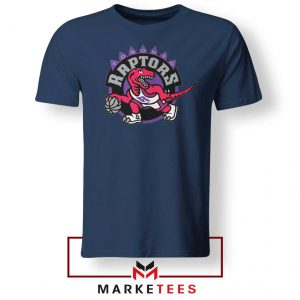 Raptors Heat NBA Navy Blue Tee Shirt