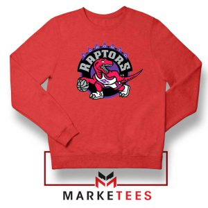 Raptors Heat NBA Red Sweater