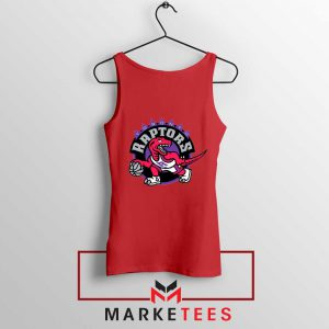 Raptors Heat NBA Red Tank Top