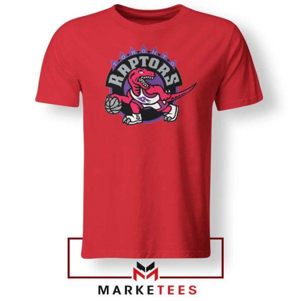 Raptors Heat NBA Red Tee Shirt